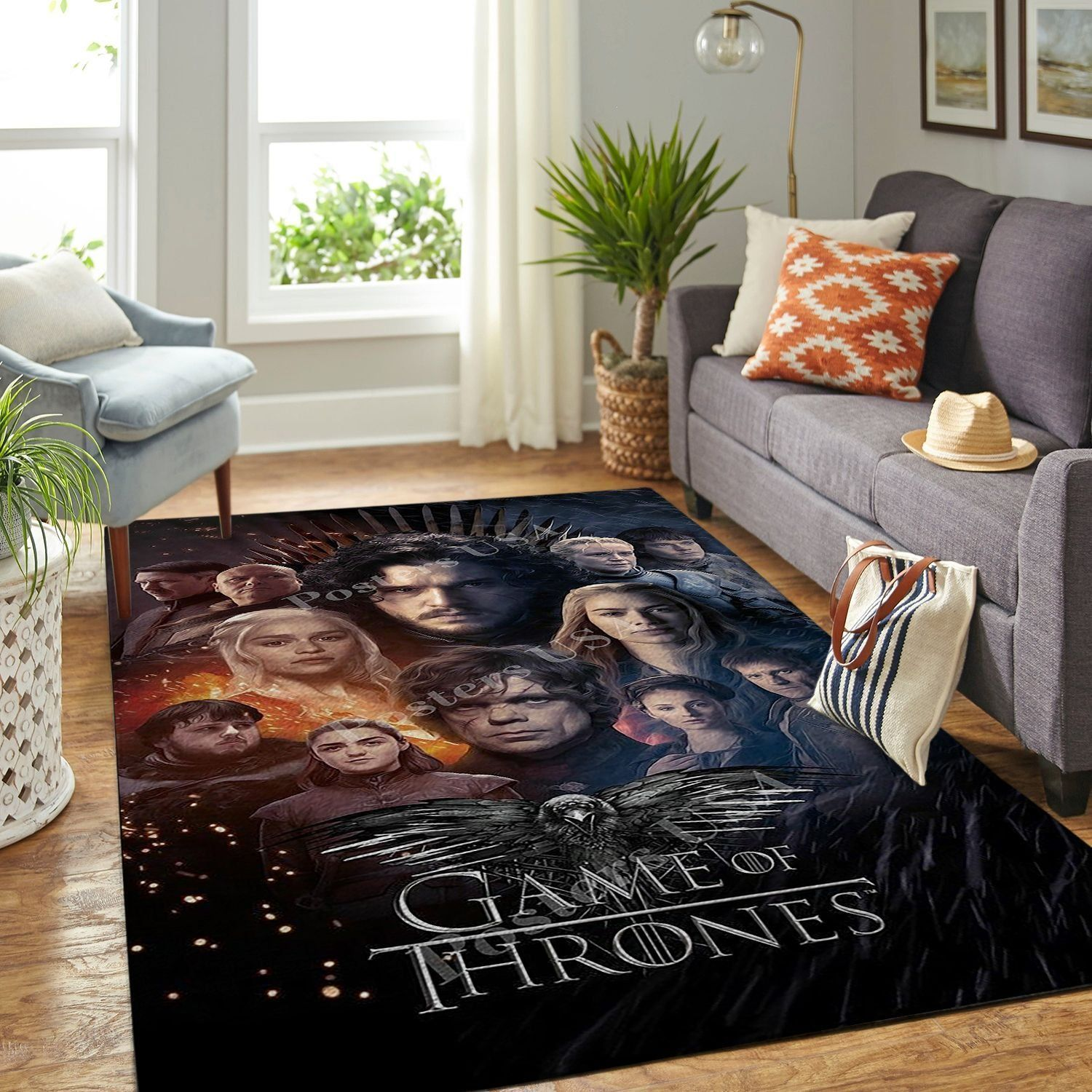 Amazon Game Of Thrones Living Room Area No6116 Rug