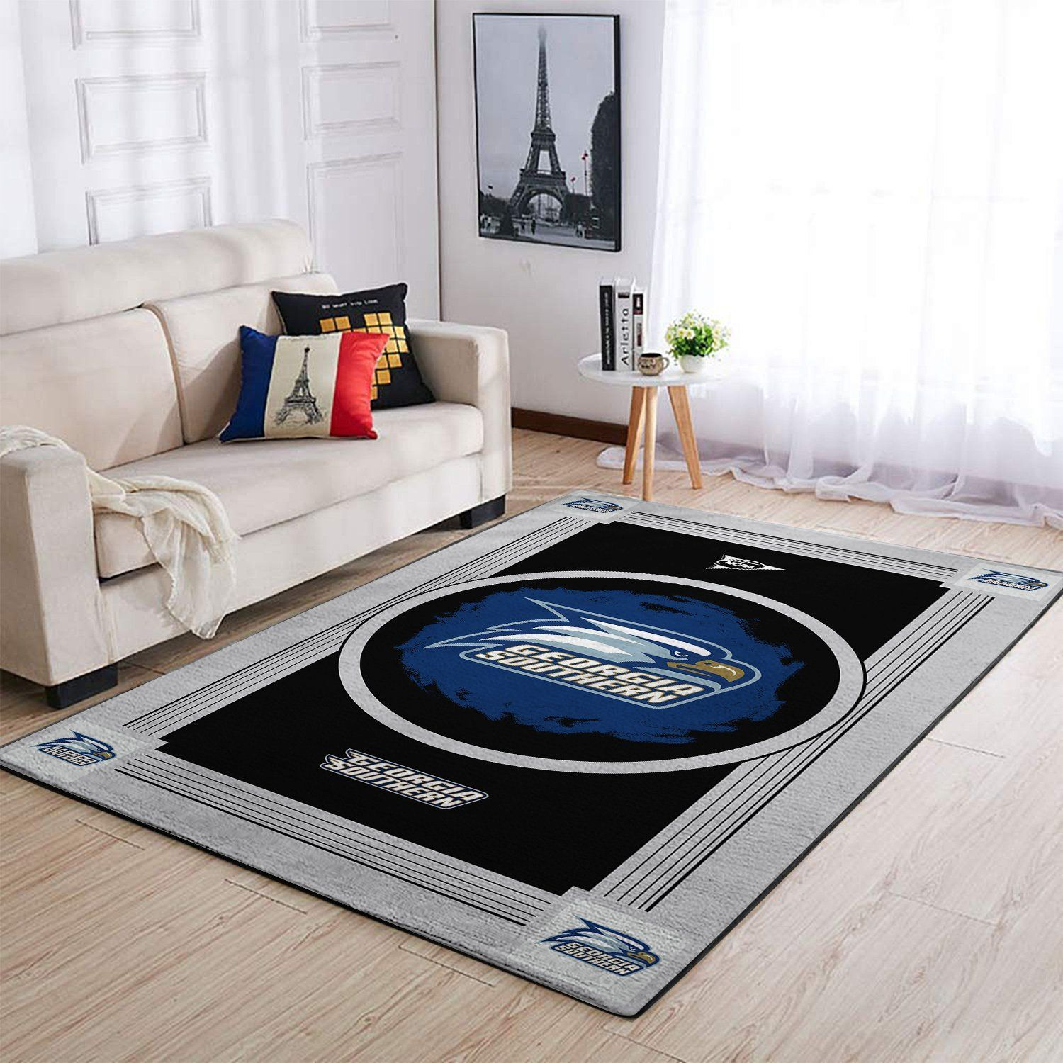 Amazon Georgia Southern Eagles Living Room Area No3069 Rug