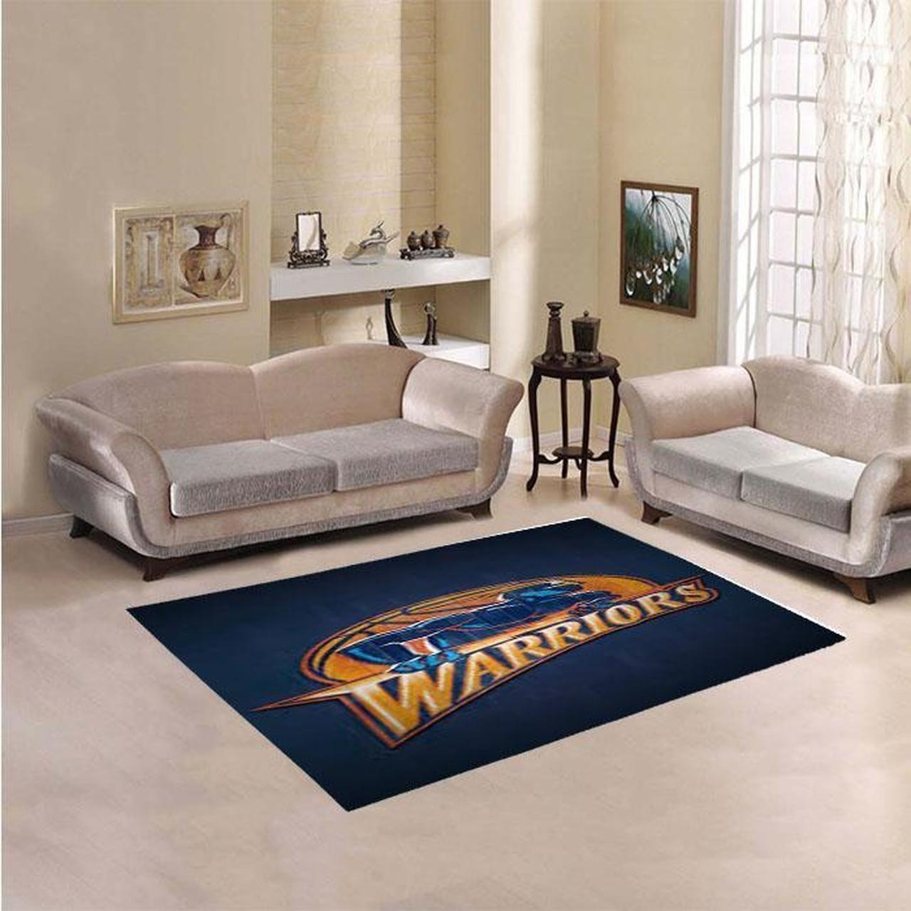 Amazon Golden State Warriors Living Room Area No3086 Rug