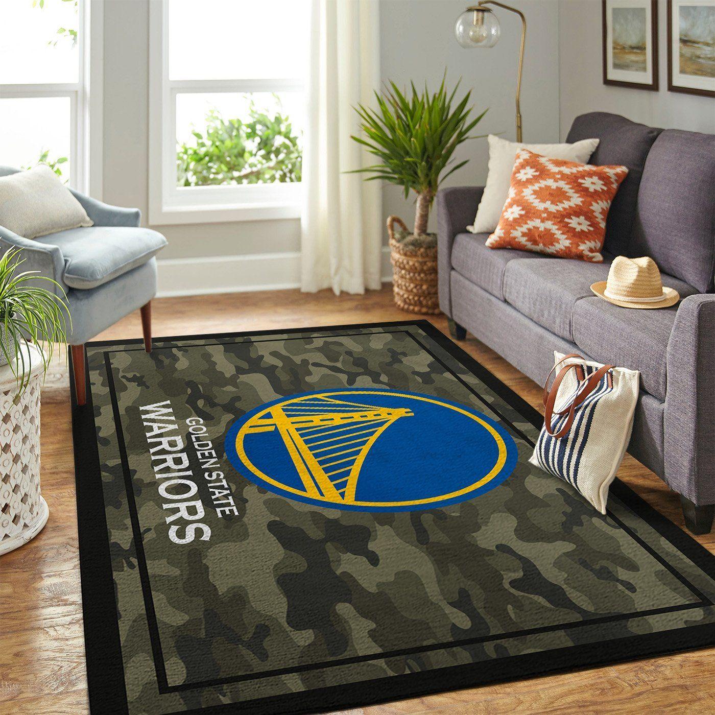 Amazon Golden State Warriors Living Room Area No3088 Rug