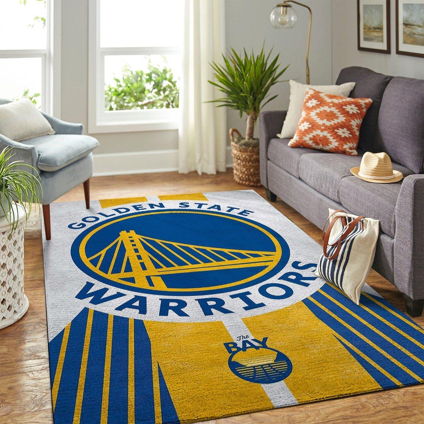 Amazon Golden State Warriors Living Room Area No3094 Rug