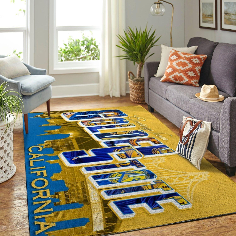 Amazon Golden State Warriors Living Room Area No3097 Rug