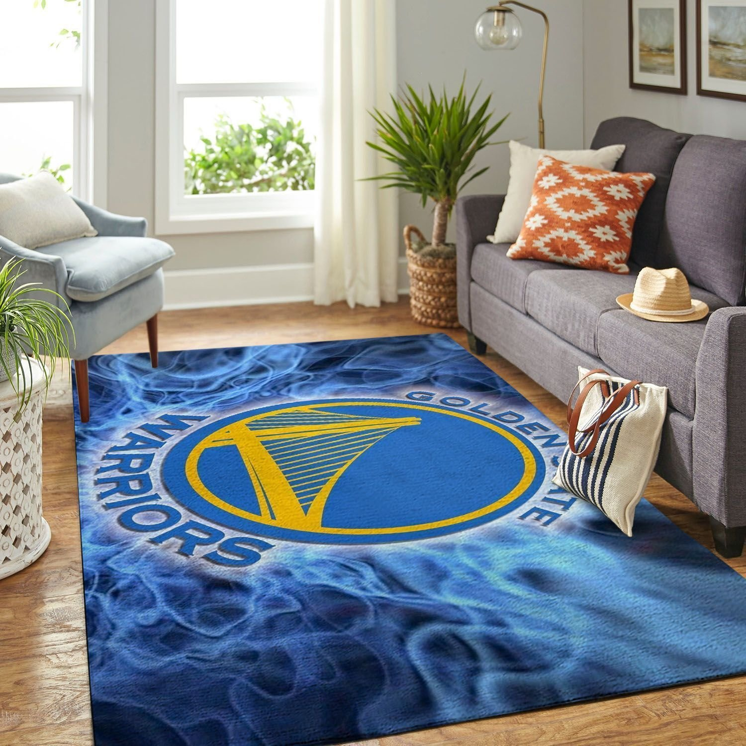 Amazon Golden State Warriors Living Room Area No3101 Rug