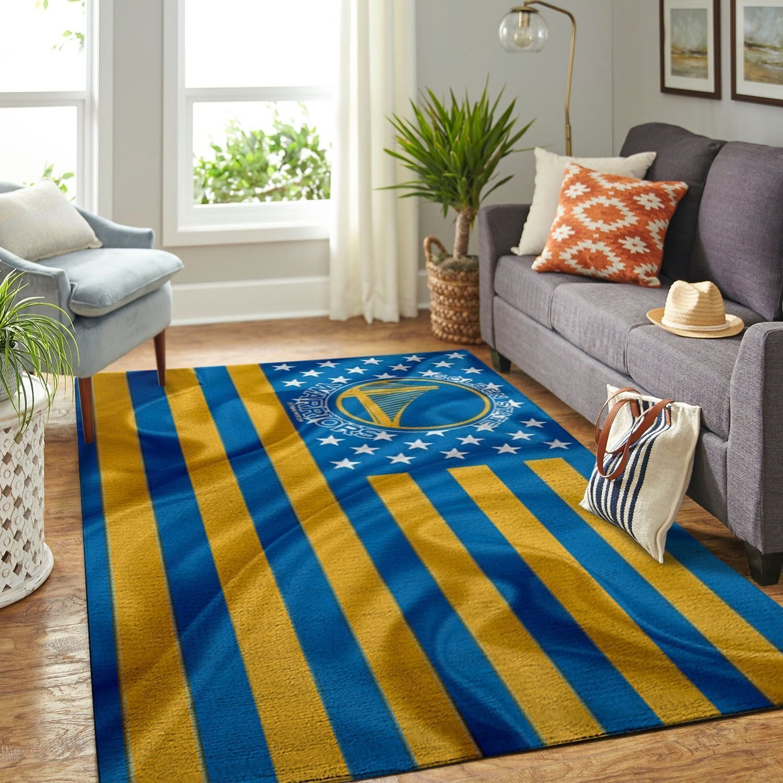 Amazon Golden State Warriors Living Room Area No3102 Rug