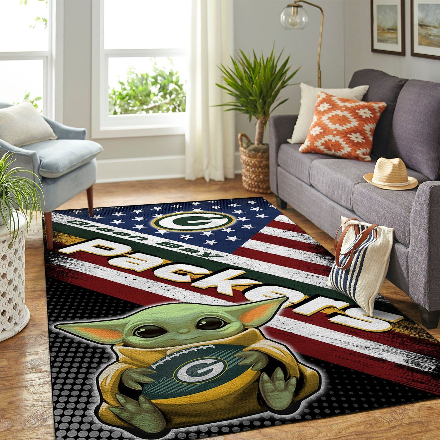 Amazon Green Bay Packers Living Room Area No3110 Rug