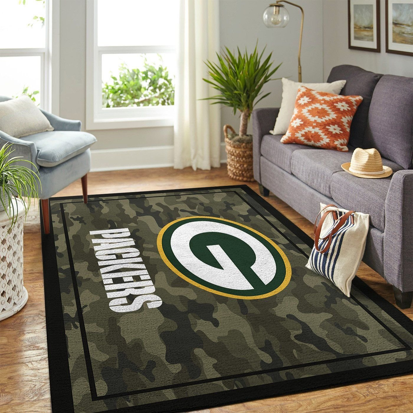 Amazon Green Bay Packers Living Room Area No3111 Rug