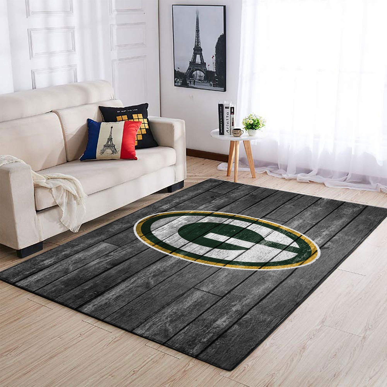 Amazon Green Bay Packers Living Room Area No3112 Rug