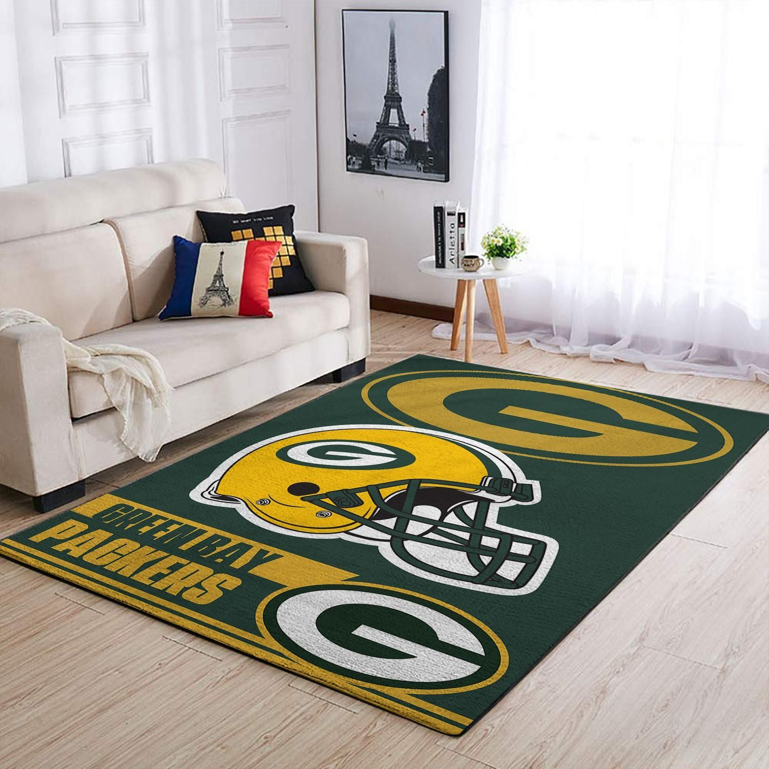 Amazon Green Bay Packers Living Room Area No3113 Rug
