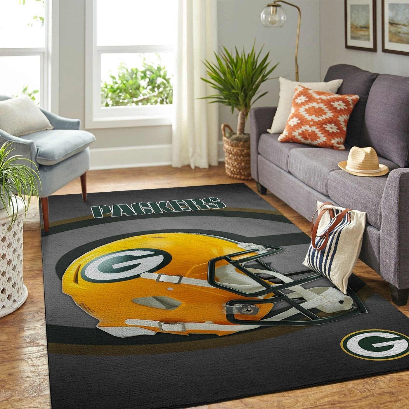 Amazon Green Bay Packers Living Room Area No3114 Rug