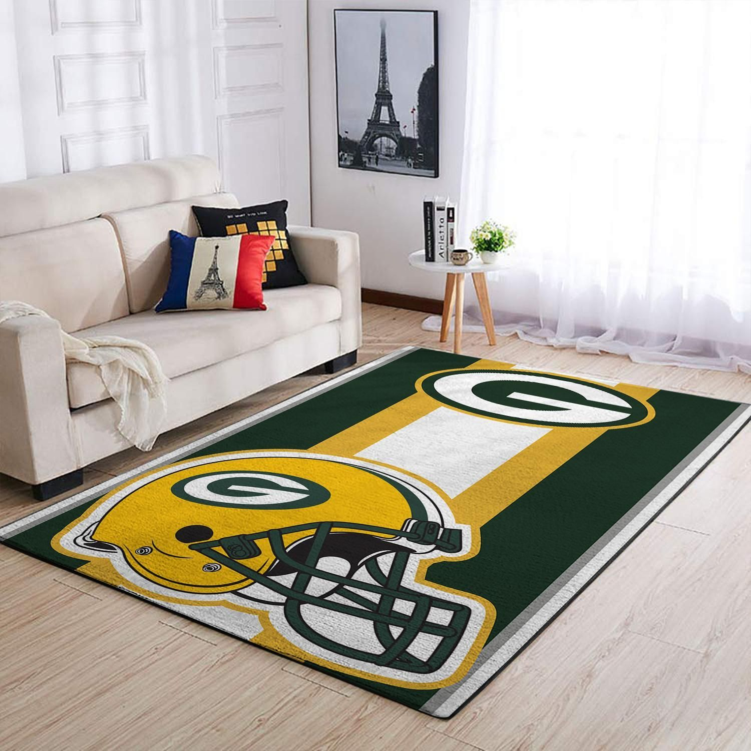 Amazon Green Bay Packers Living Room Area No3115 Rug