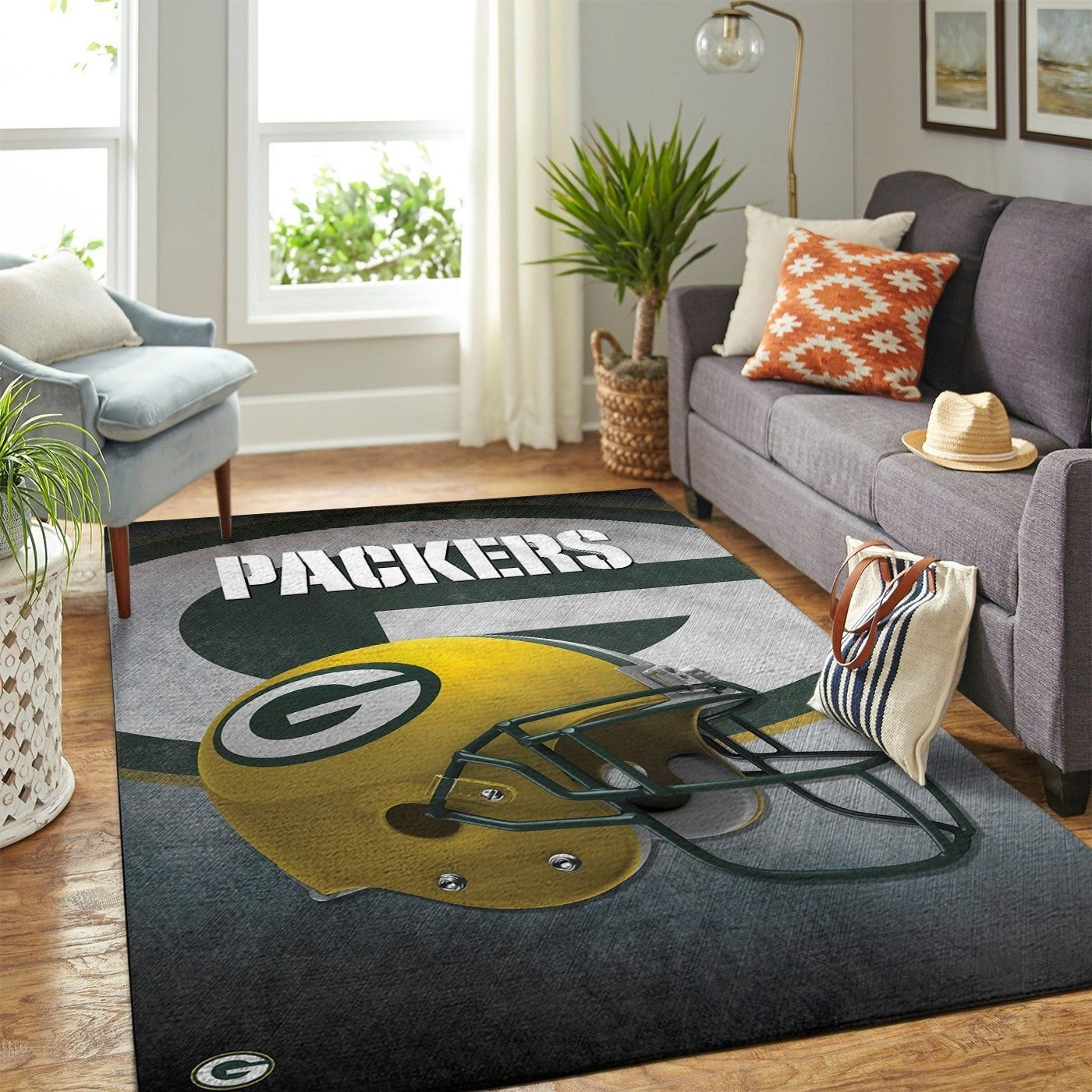 Amazon Green Bay Packers Living Room Area No3116 Rug
