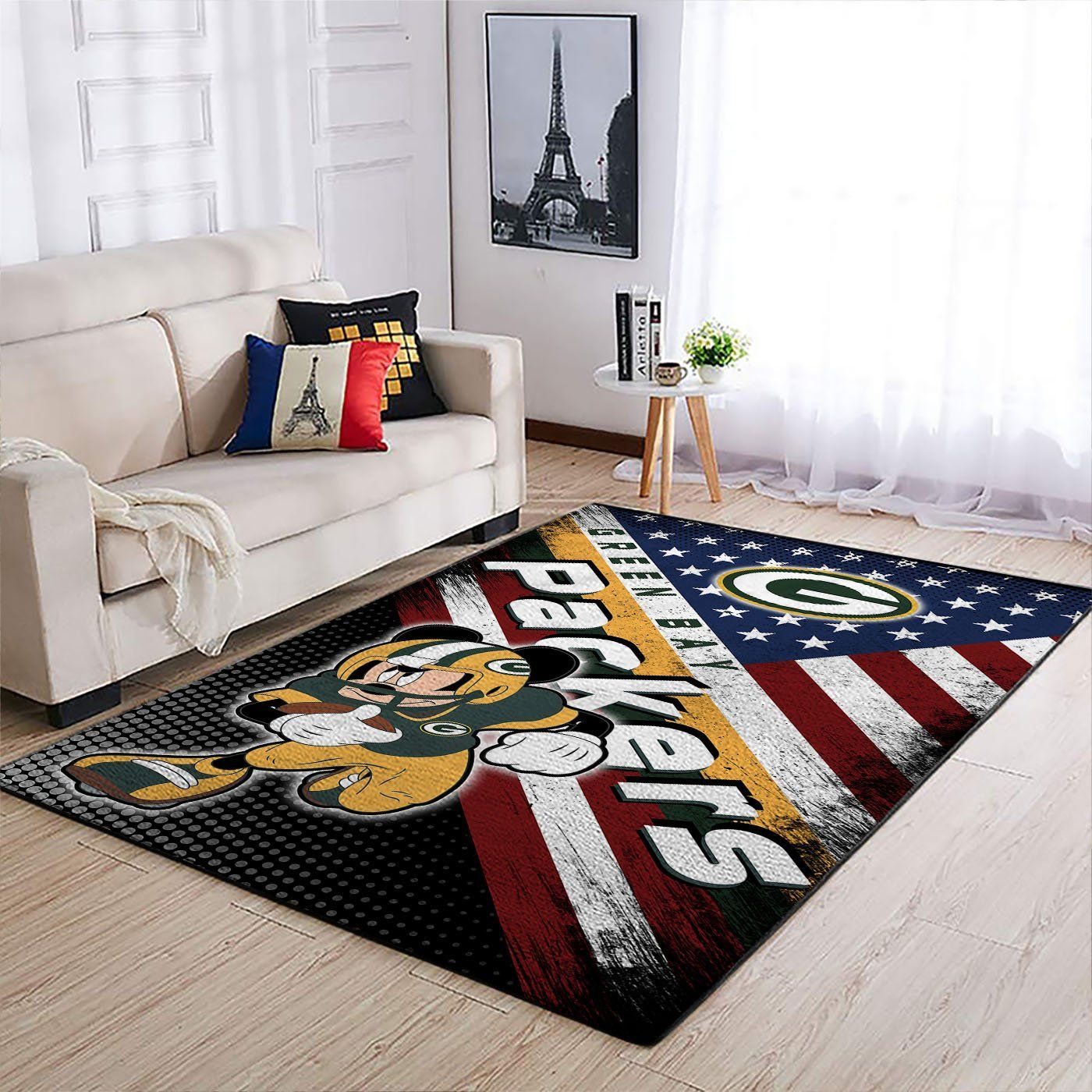 Amazon Green Bay Packers Living Room Area No3117 Rug
