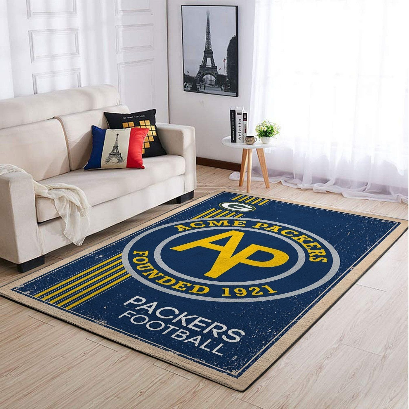 Amazon Green Bay Packers Living Room Area No3119 Rug