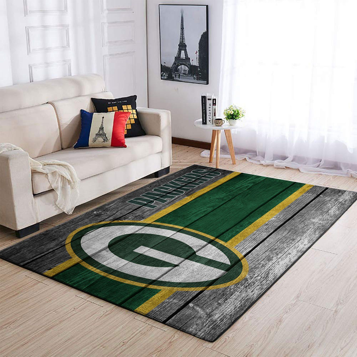 Amazon Green Bay Packers Living Room Area No3125 Rug