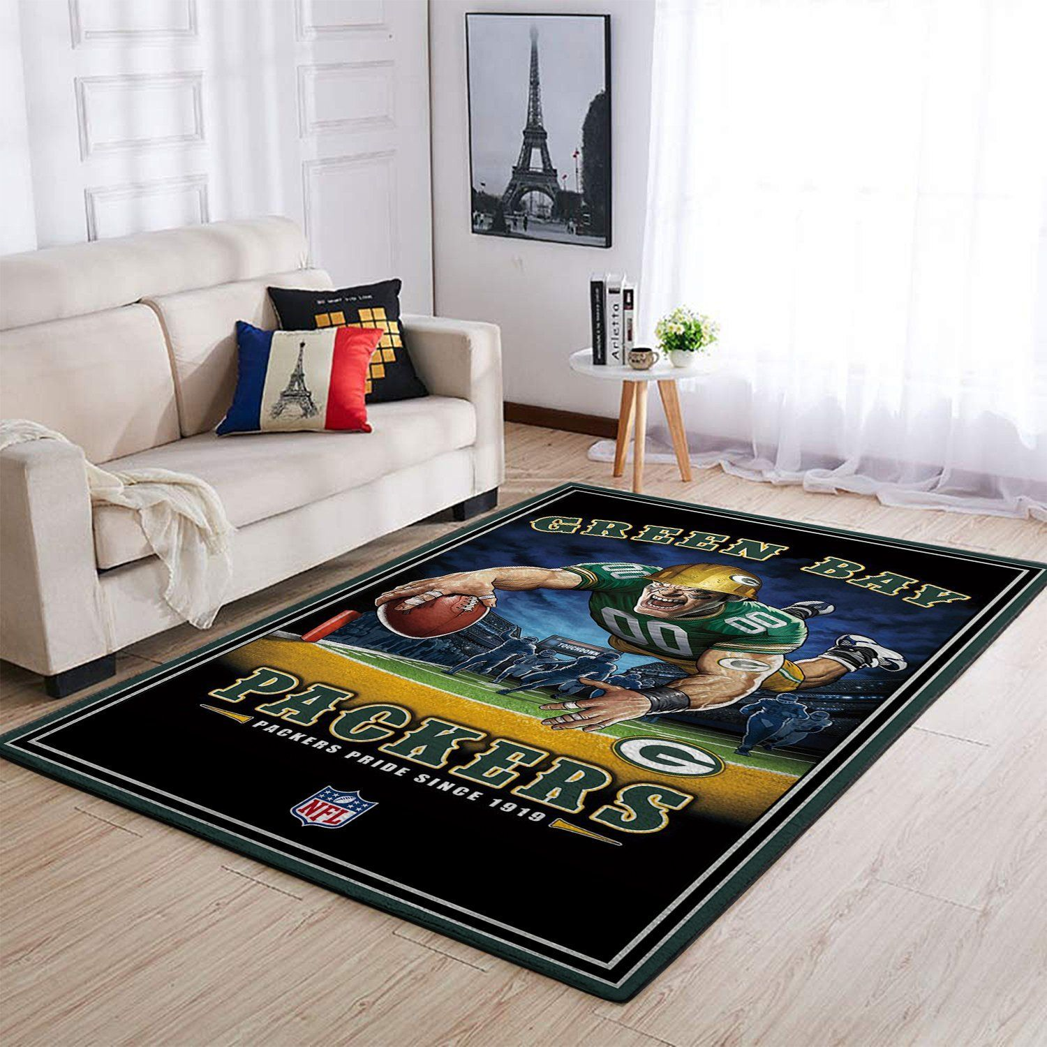 Amazon Green Bay Packers Living Room Area No3126 Rug