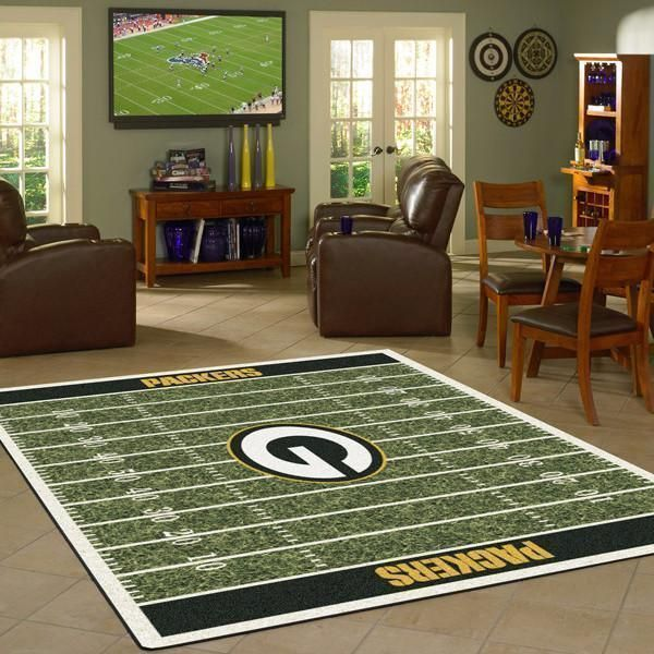 Amazon Green Bay Packers Living Room Area No3129 Rug