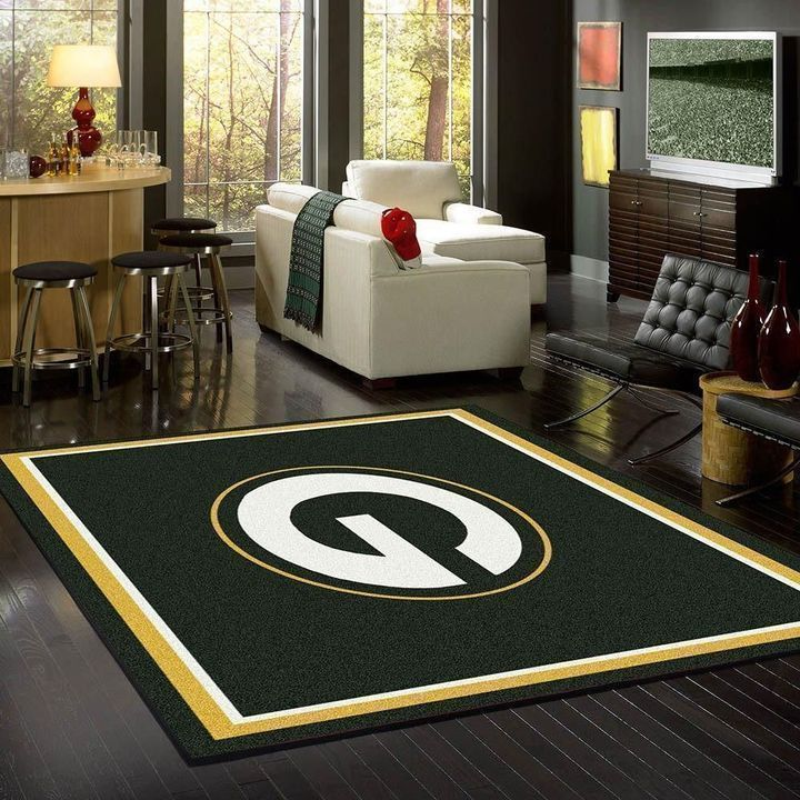 Amazon Green Bay Packers Living Room Area No3130 Rug