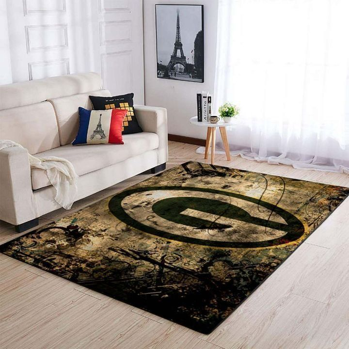 Amazon Green Bay Packers Living Room Area No3132 Rug