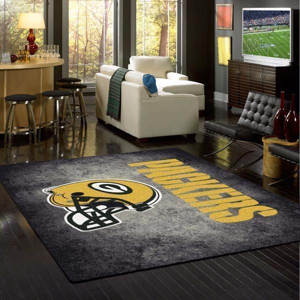 Amazon Green Bay Packers Living Room Area No3133 Rug