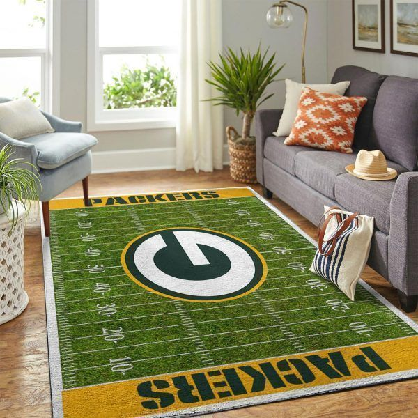 Amazon Green Bay Packers Living Room Area No3135 Rug