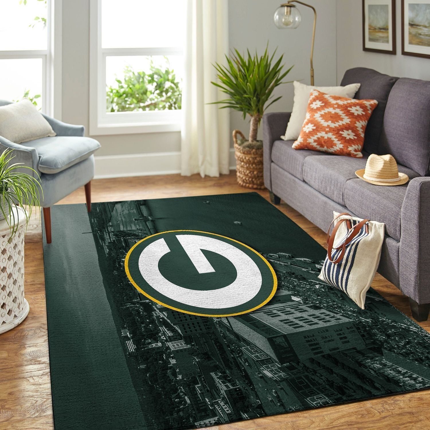 Amazon Green Bay Packers Living Room Area No3139 Rug