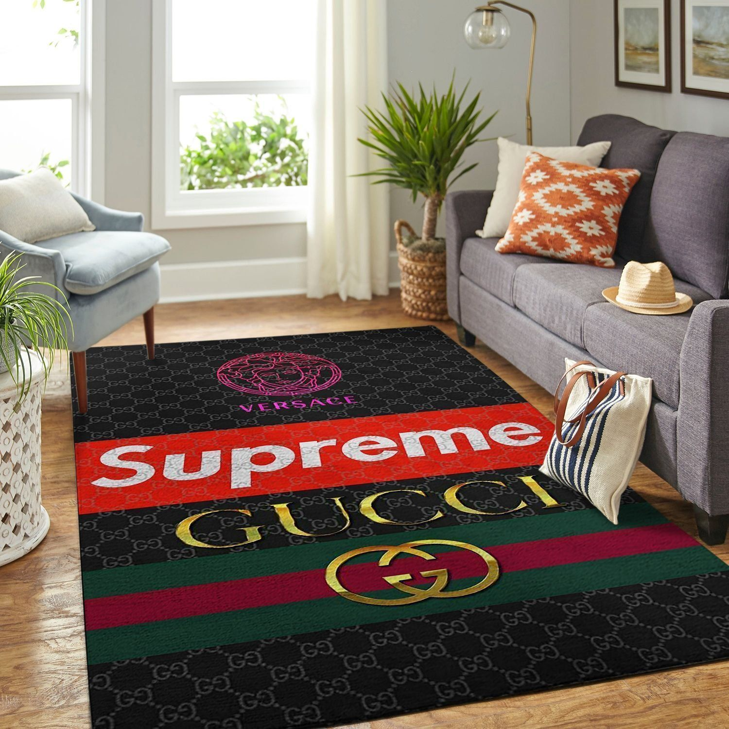 Amazon Gucci Living Room Area No1840 Rug