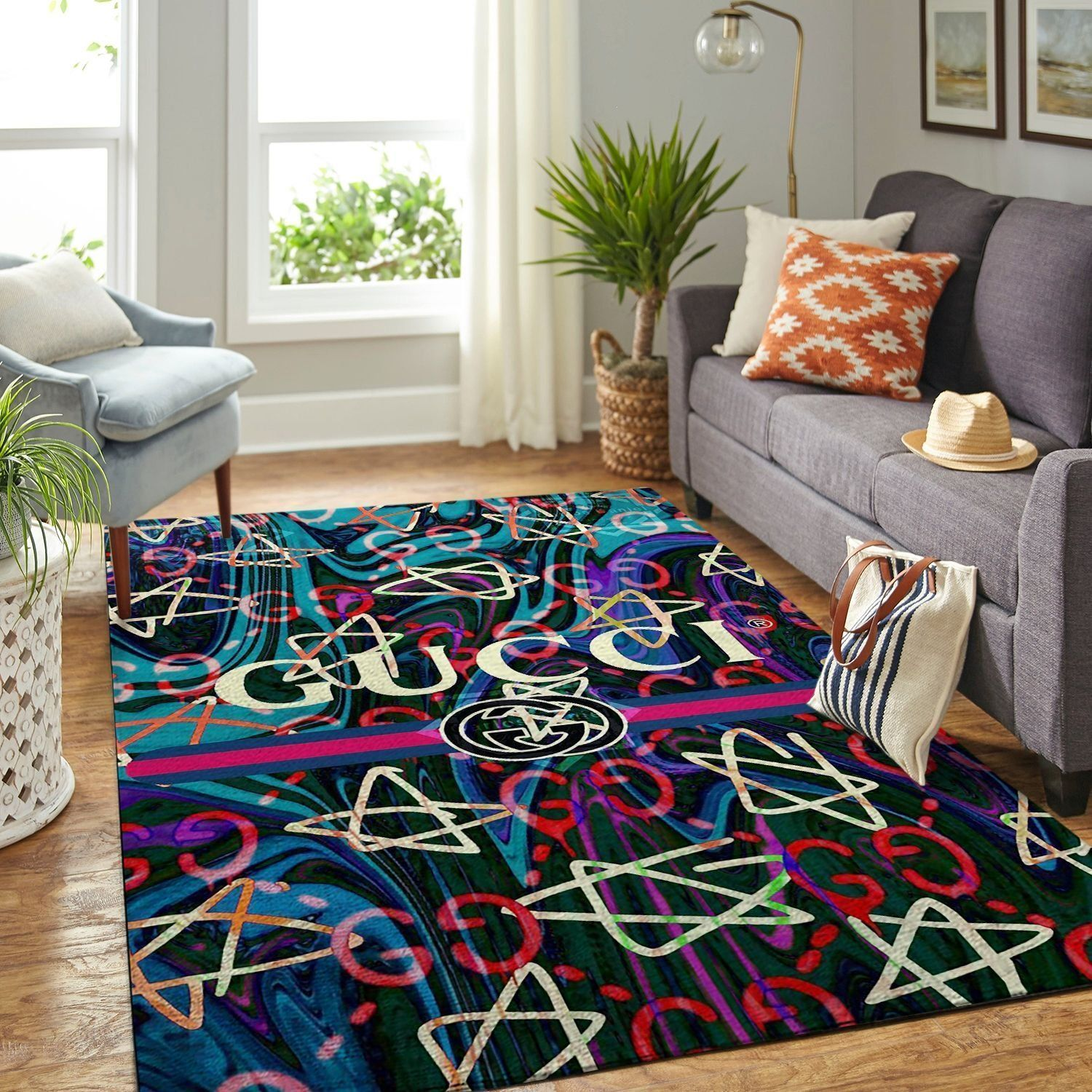 Amazon Gucci Living Room Area No1842 Rug