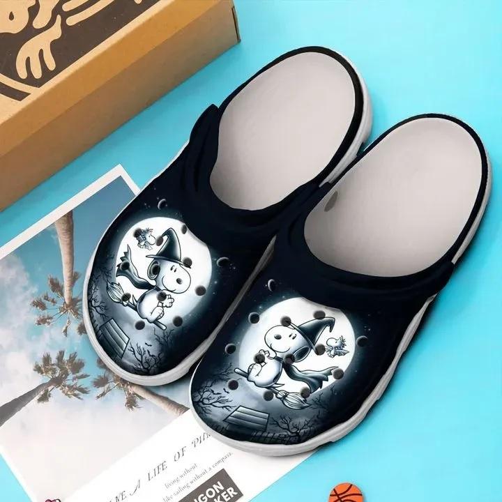Amazon Halloween Snoopy And Charlie Brown Crocs Clog Shoes