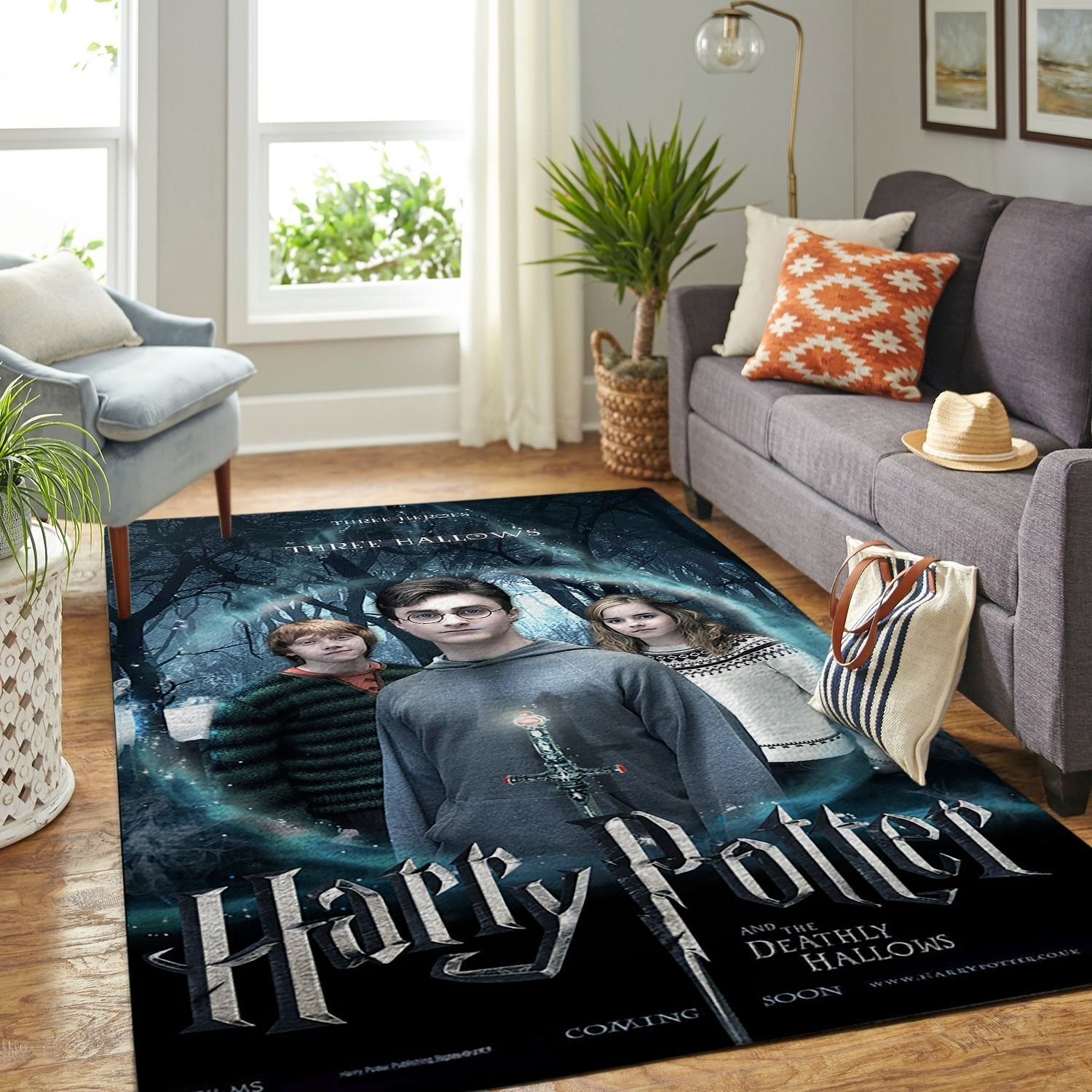 Amazon Harry Potter Living Room Area No6153 Rug