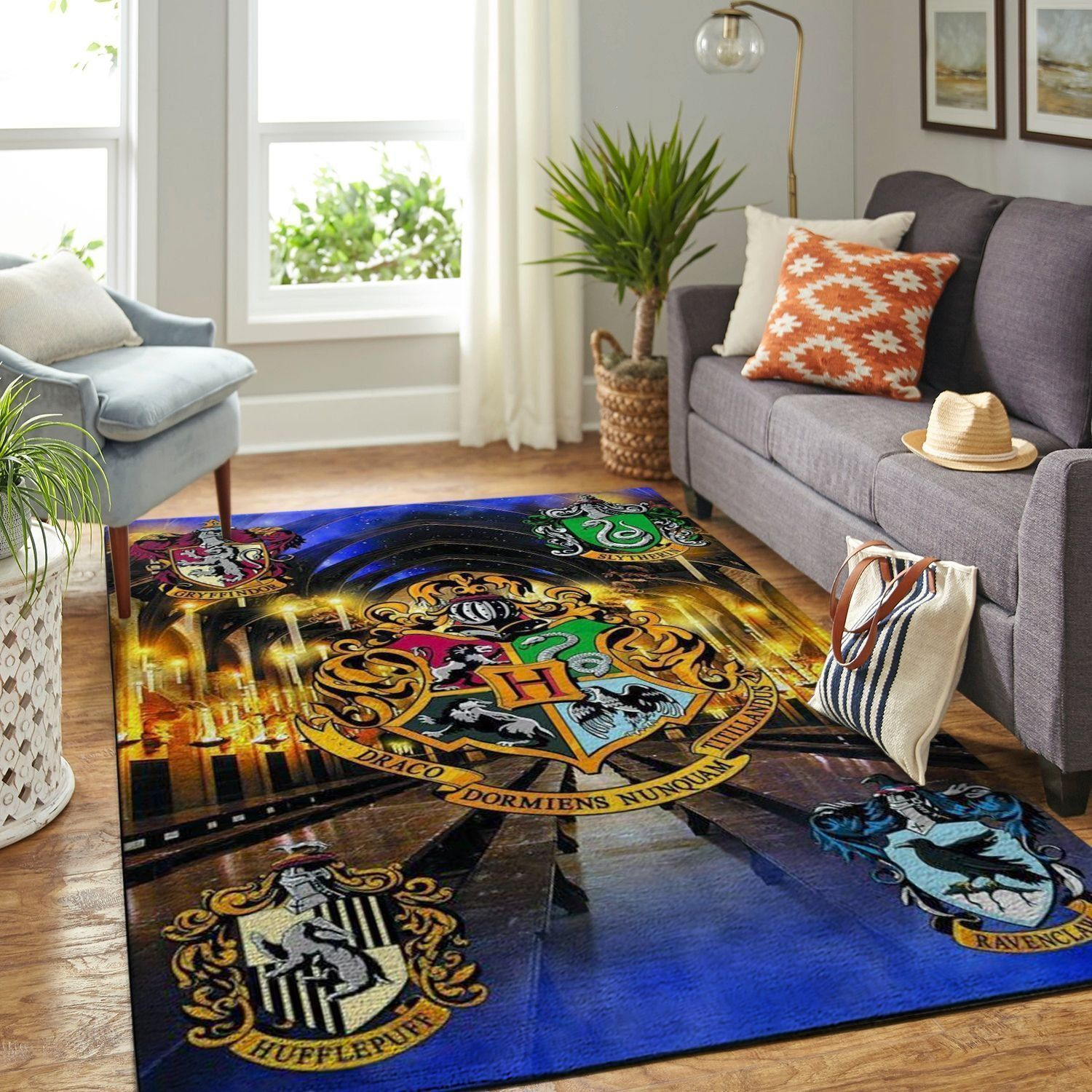 Amazon Harry Potter Living Room Area No6154 Rug