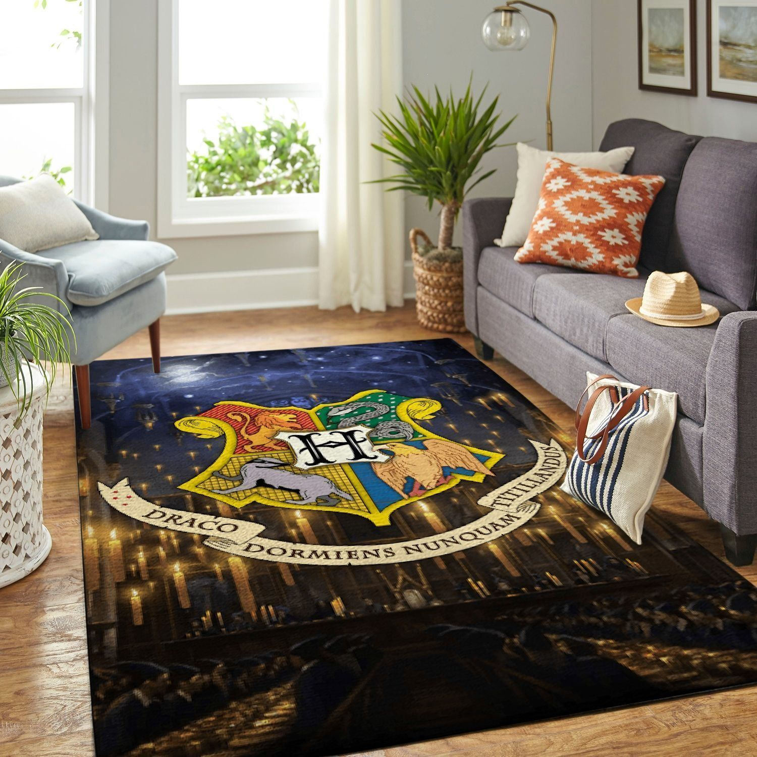 Amazon Harry Potter Living Room Area No6155 Rug
