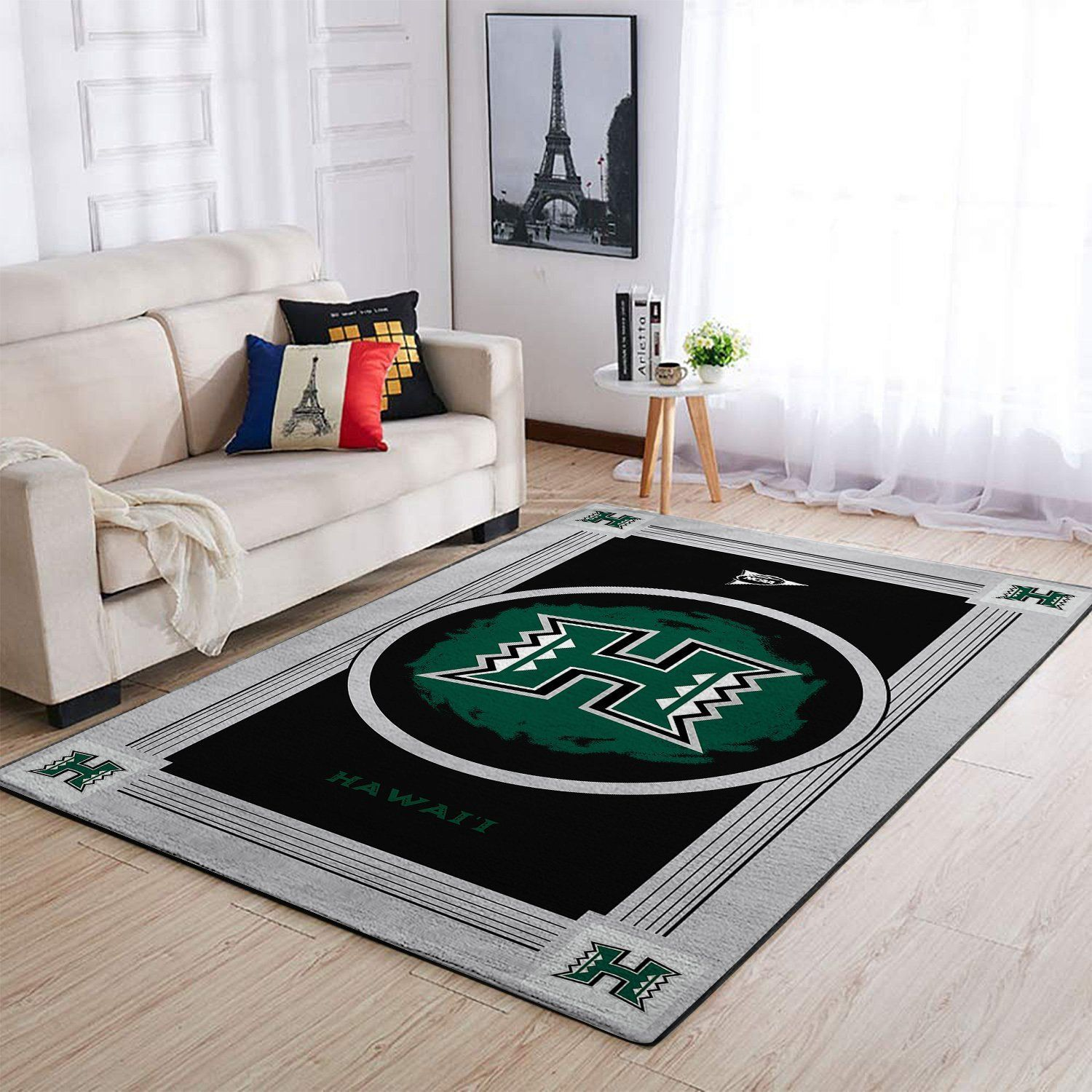 Amazon Hawaii Rainbow Warriors Living Room Area No3152 Rug