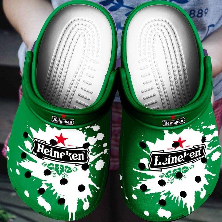 Amazon Heineken Beer Crocs Clog Shoes