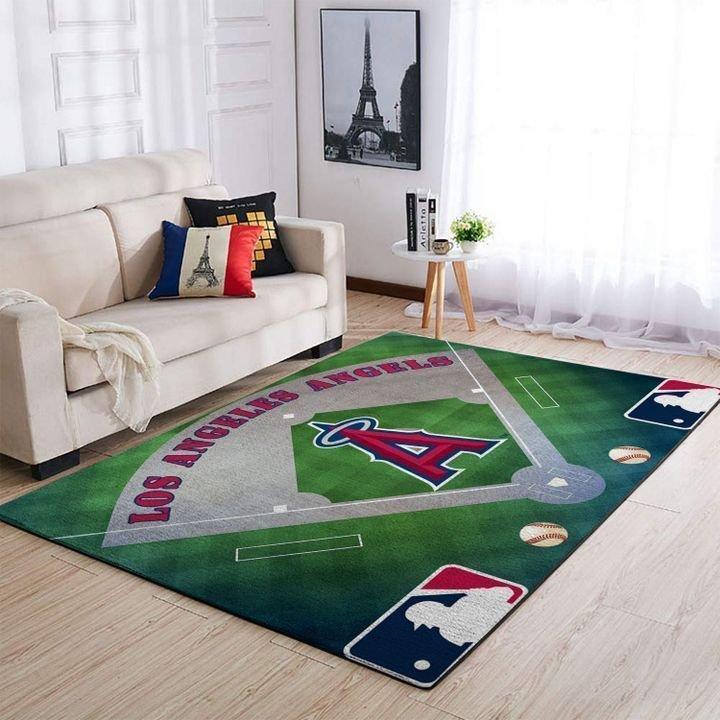 Amazon Los Angeles Angels Living Room Area No3501 Rug