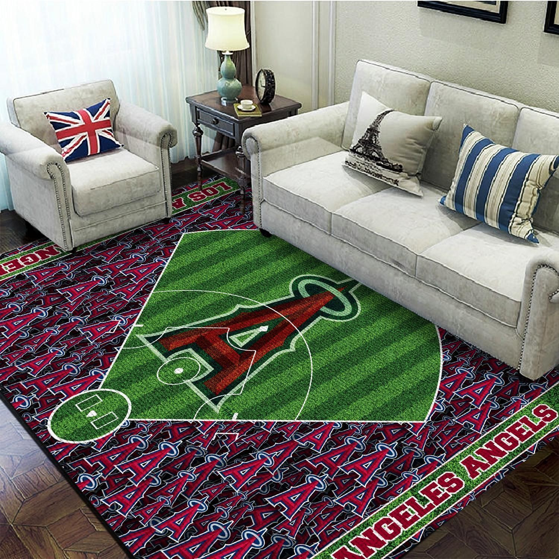 Amazon Los Angeles Angels Living Room Area No3502 Rug