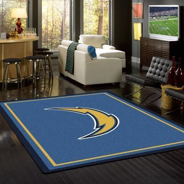 Amazon Los Angeles Chargers Living Room Area No3522 Rug