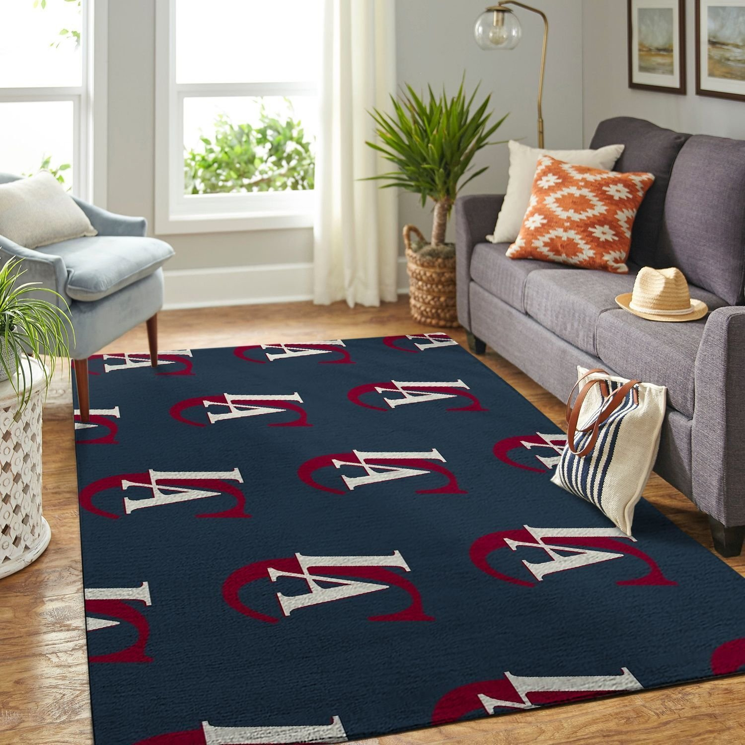 Amazon Los Angeles Clippers Living Room Area No3550 Rug