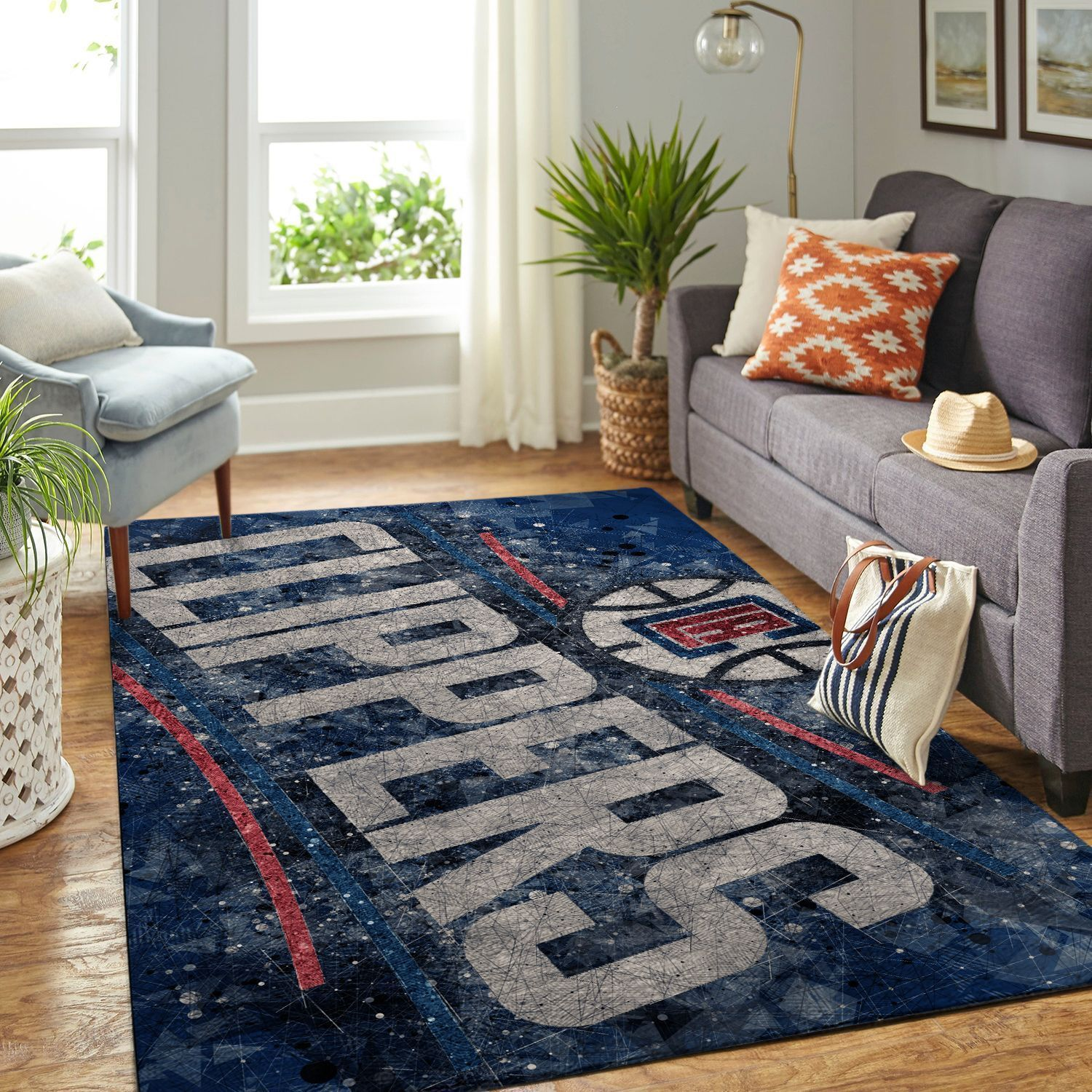 Amazon Los Angeles Clippers Living Room Area No3558 Rug