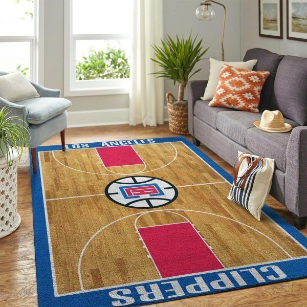 Amazon Los Angeles Clippers Living Room Area No3560 Rug