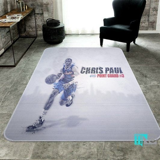 Amazon Los Angeles Clippers Living Room Area No3561 Rug