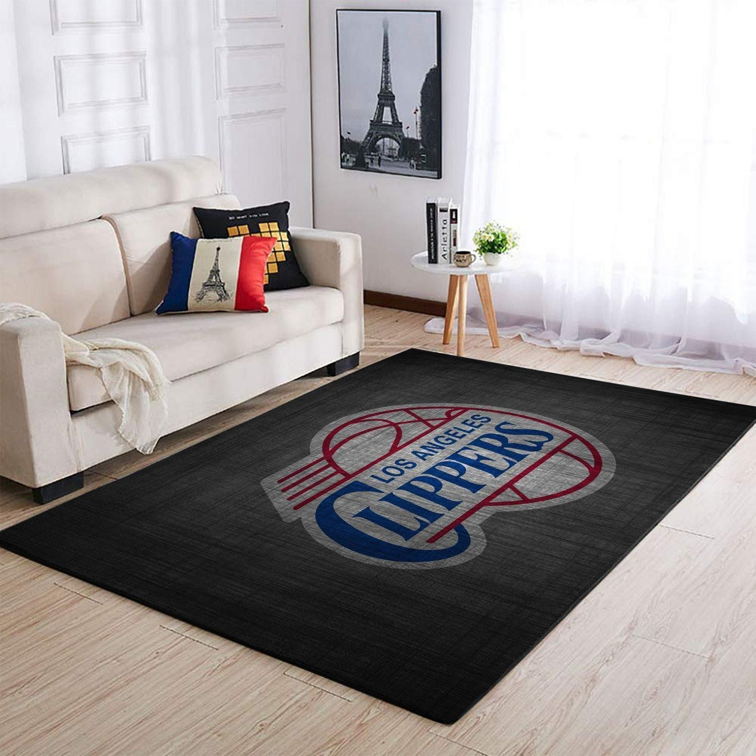 Amazon Los Angeles Clippers Living Room Area No3563 Rug