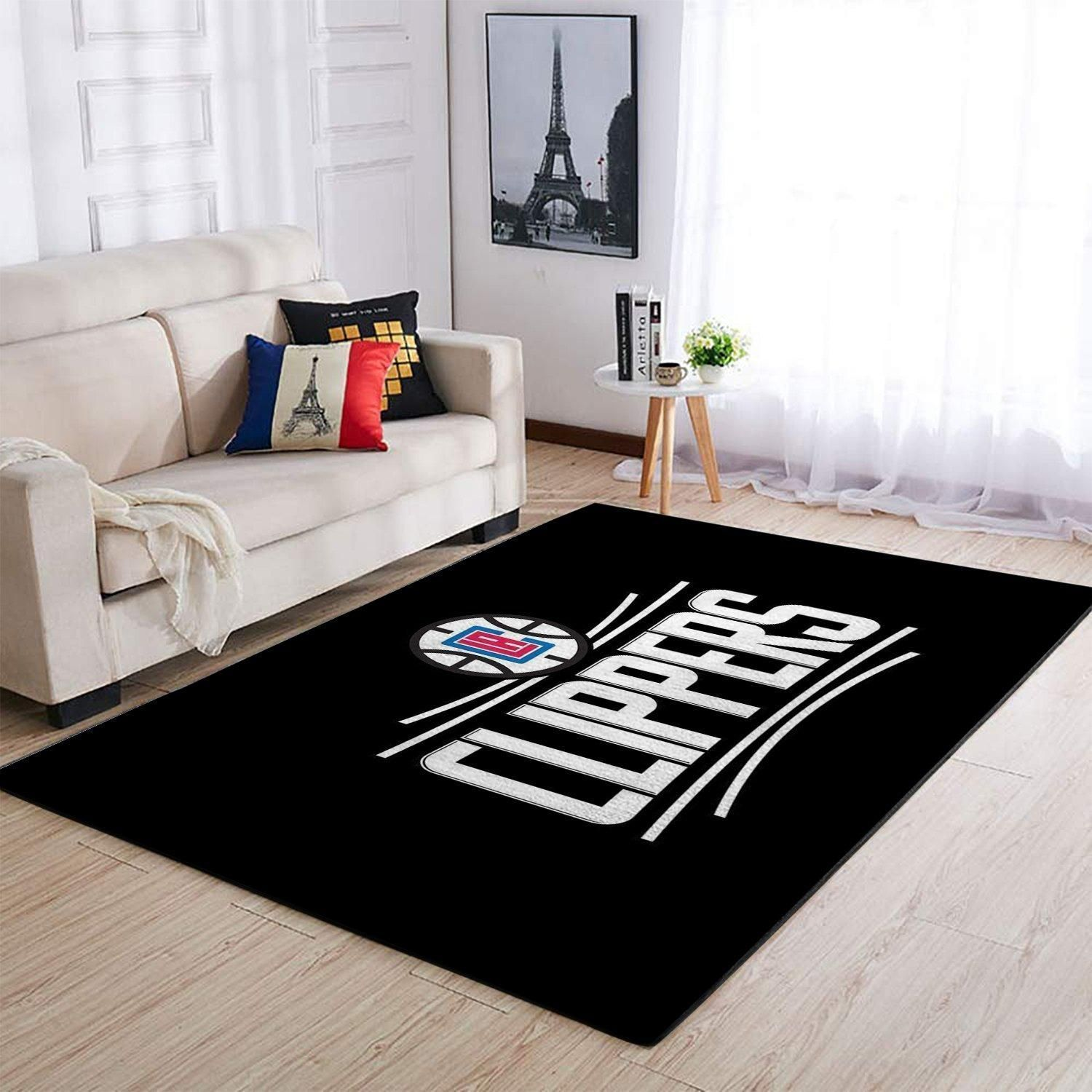 Amazon Los Angeles Clippers Living Room Area No3564 Rug