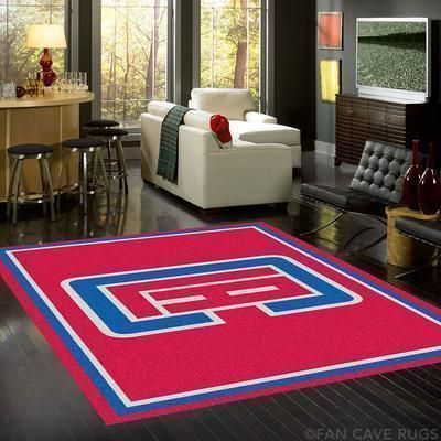 Amazon Los Angeles Clippers Living Room Area No3565 Rug