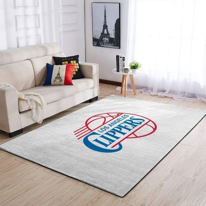 Amazon Los Angeles Clippers Living Room Area No3566 Rug