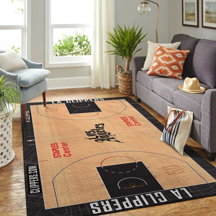 Amazon Los Angeles Clippers Living Room Area No3569 Rug