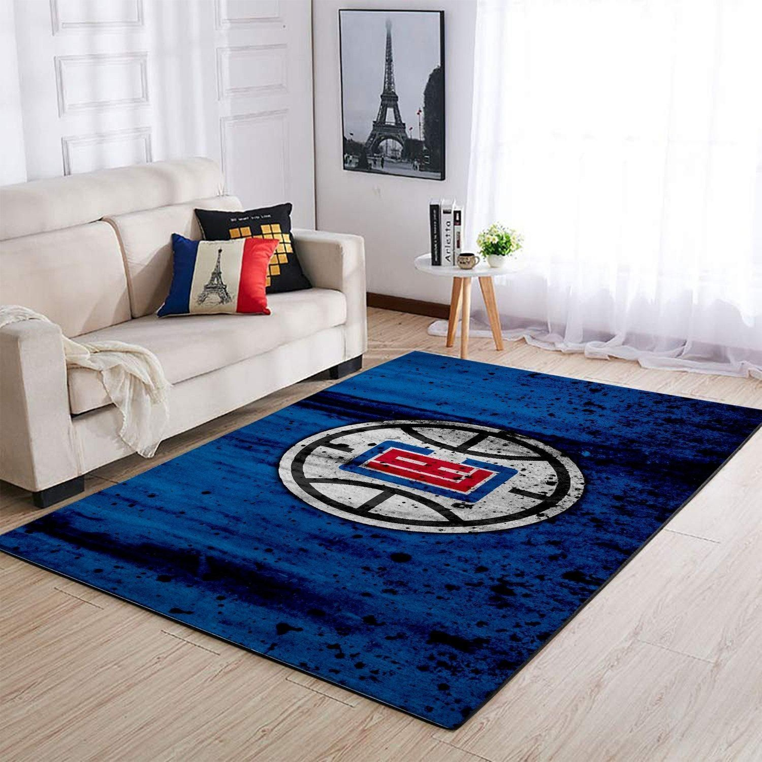 Amazon Los Angeles Clippers Living Room Area No3570 Rug