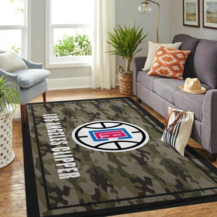 Amazon Los Angeles Clippers Living Room Area No3573 Rug