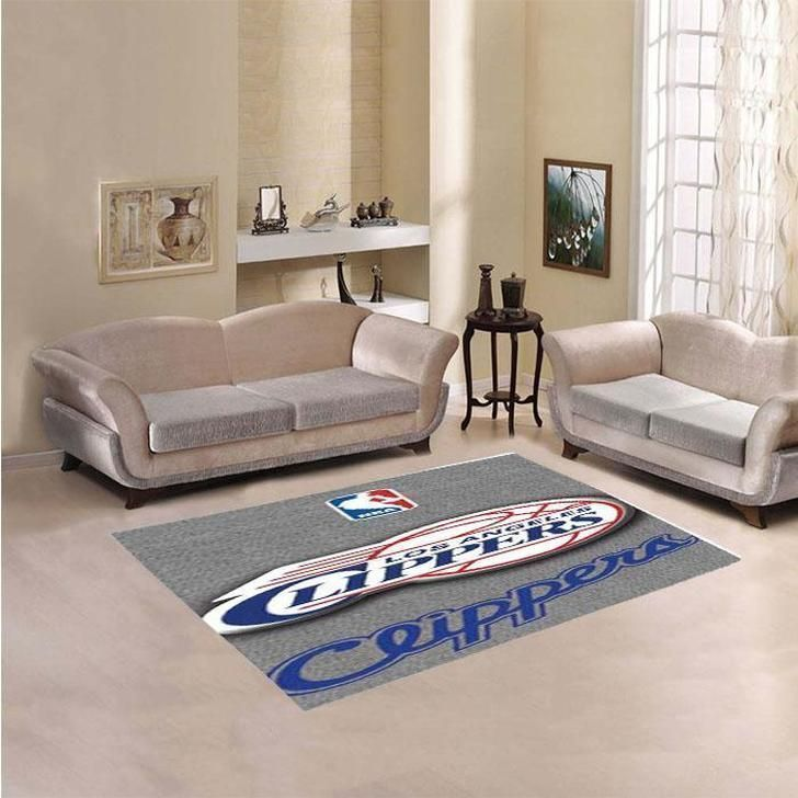 Amazon Los Angeles Clippers Living Room Area No3574 Rug