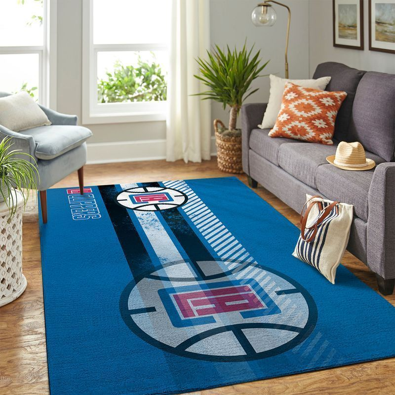 Amazon Los Angeles Clippers Living Room Area No3575 Rug