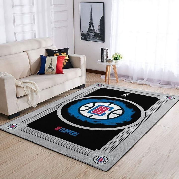 Amazon Los Angeles Clippers Living Room Area No3577 Rug